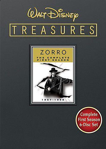 Walt Disney Treasures Zorro Season 1 Walt Disney Studios Home