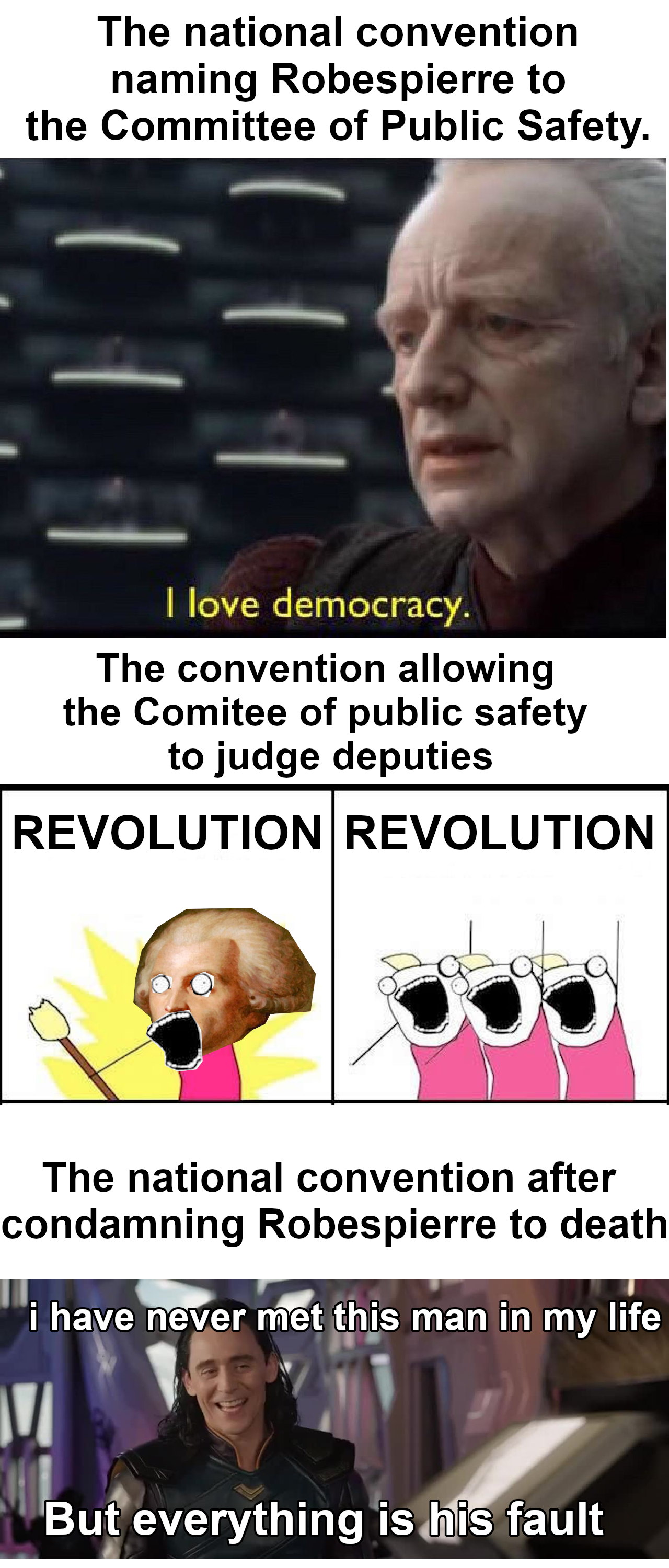 French Revolution Mistakes Were Made French Revolution Revolution Silly Jokes