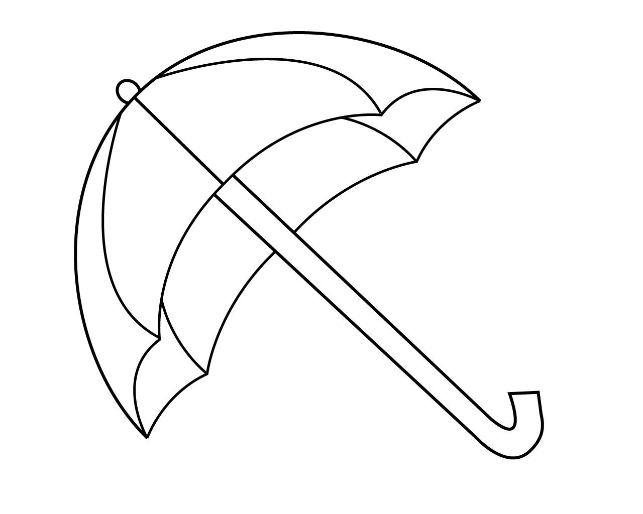 Umbrella Coloring Pages For Your Little Ones (With images