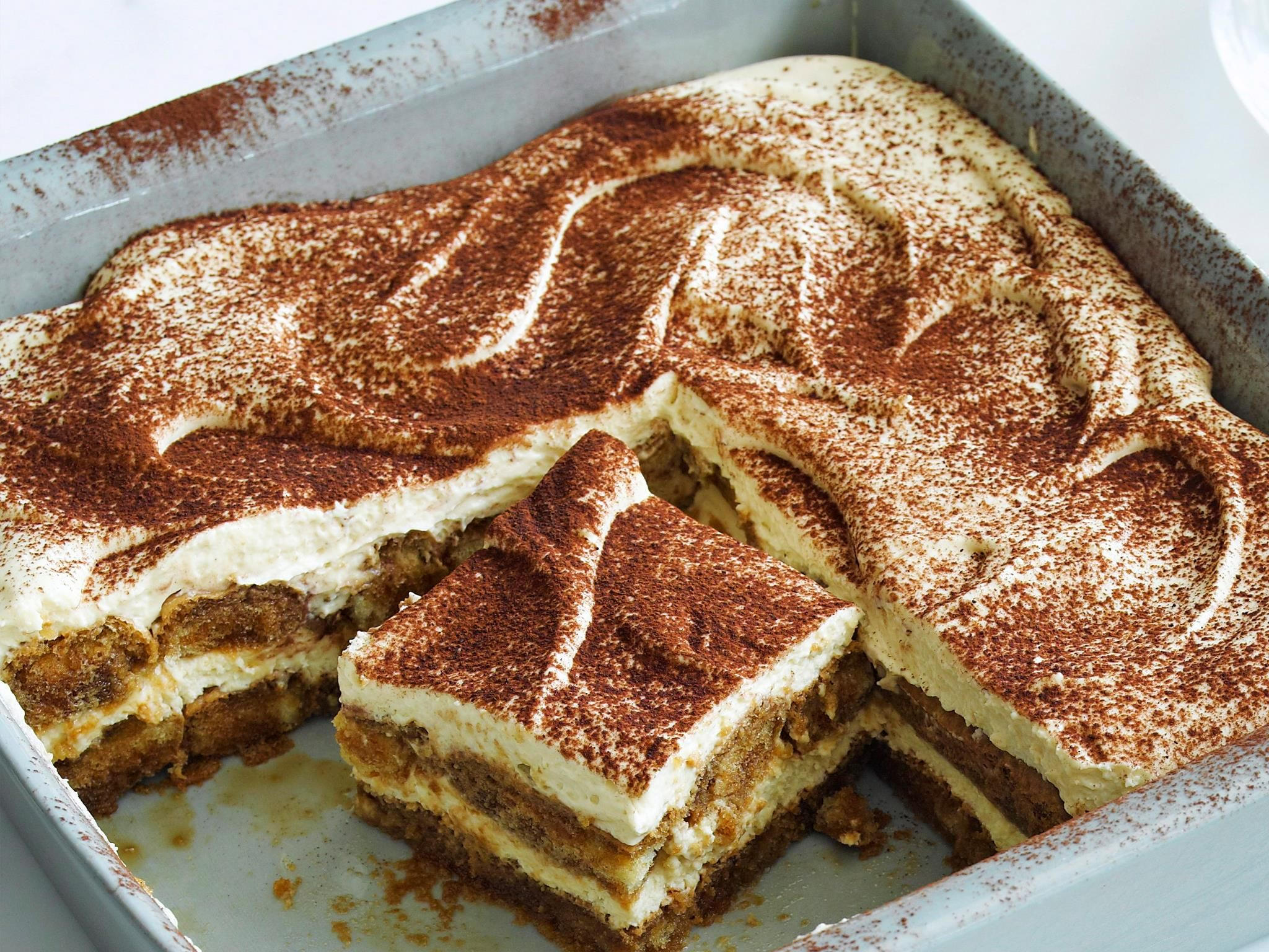 Authentic Italian Tiramisu Recipe Food Network
