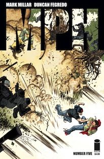 Bestselling artist Declan Shalvey adds punch to Mark Millar and Duncan Fegredo's MPH for issue #5 with a dramatic variant.