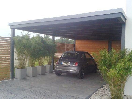 Modernes Design Carport Modern Carport Holz Moderner Pavillon