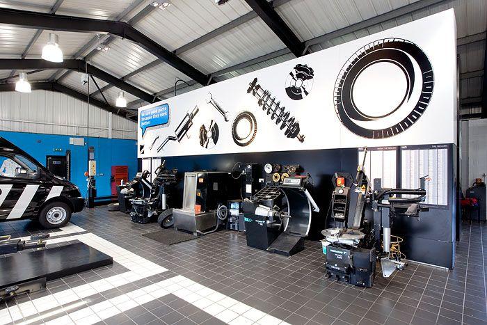 Fitch Hiq Nottingham Auto Repair Shop Auto Repair Garage Design