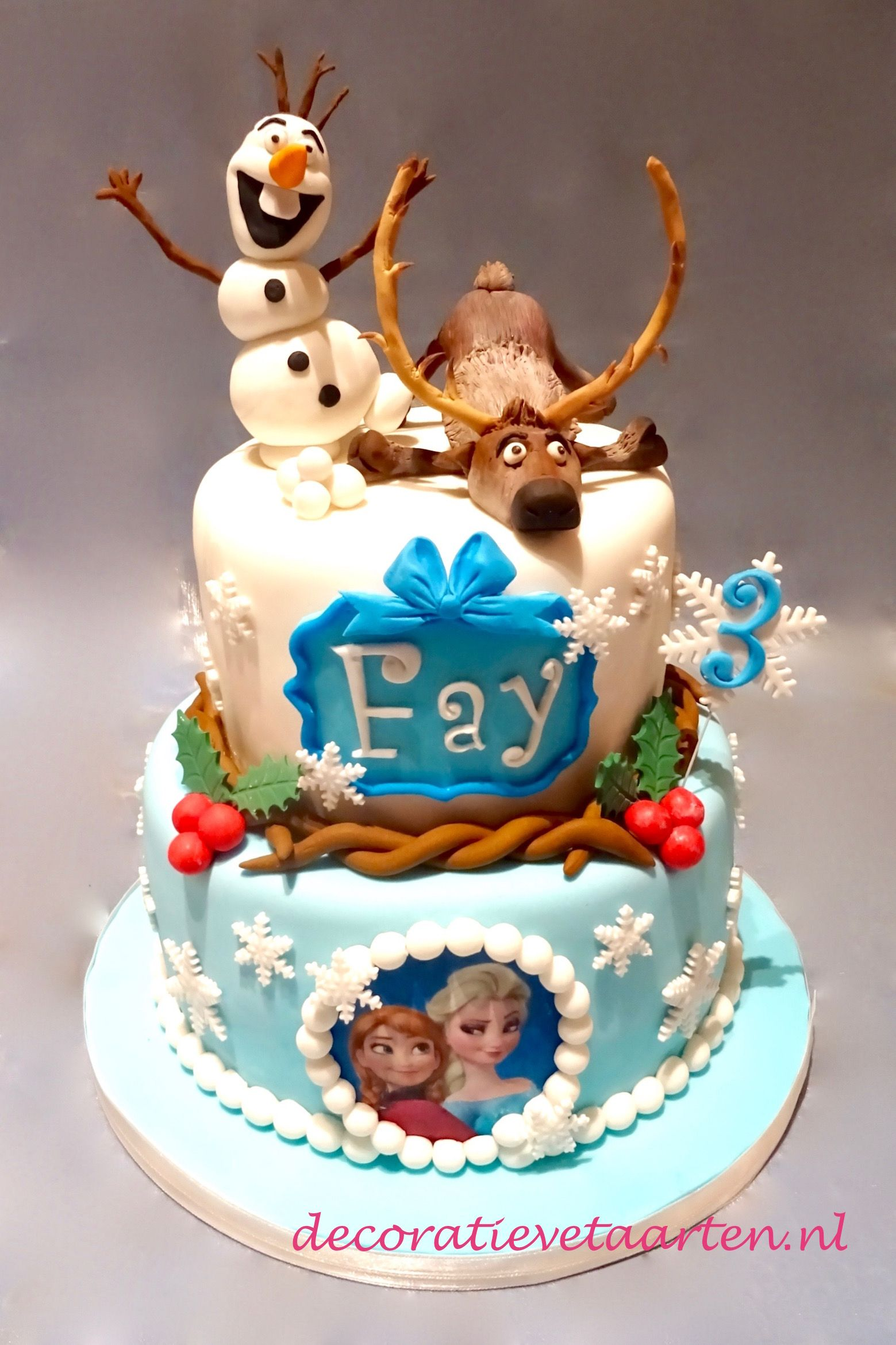 olaf taart Taart 'Frozen   Olaf en Sven' | Voor thema's | Pinterest olaf taart