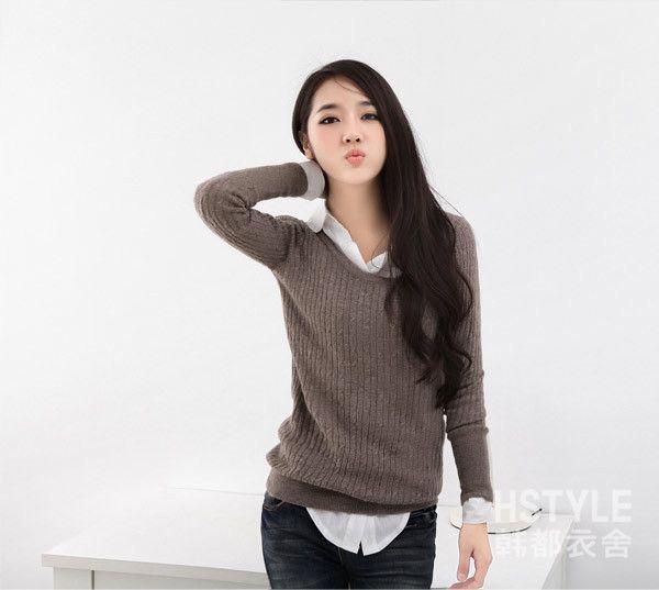Midealtex-Women-s-Latest-O-Neck-Twist-Knitted-Slim-Under-Shirt ...