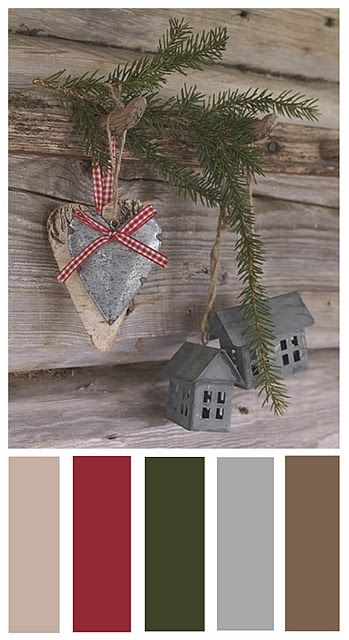Scandinavian Style Colour Palette For Christmas Christmas Ideas