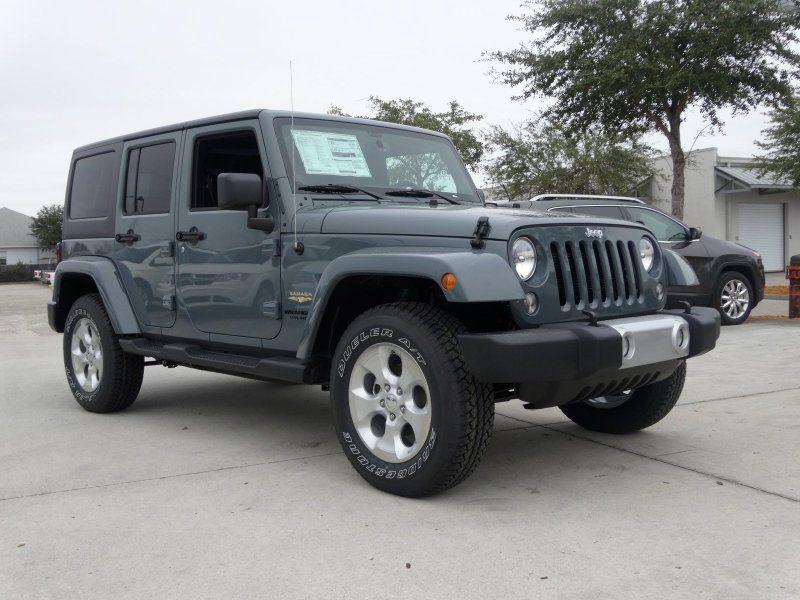 2014 Jeep Wrangler Unlimited Sahara 4x4 Anvil Clear Coat Dream