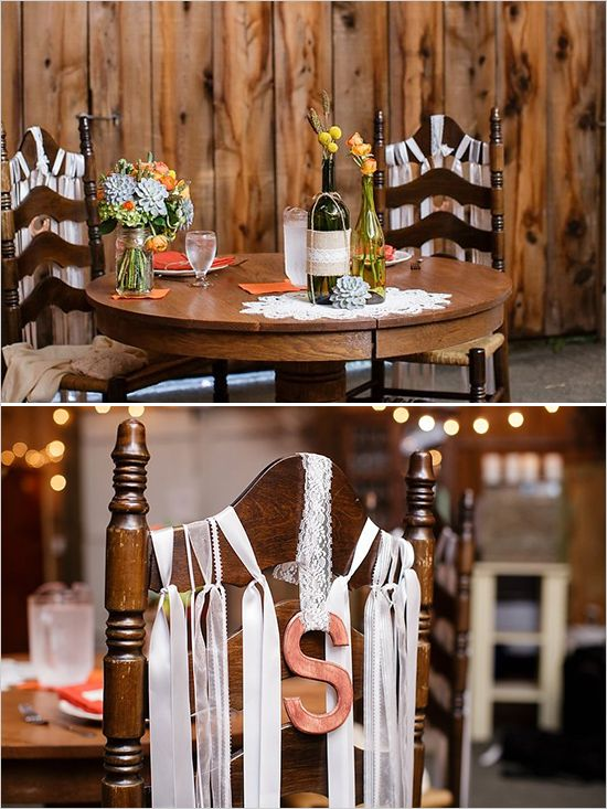Rustic sweetheart table ideas @weddingchicks