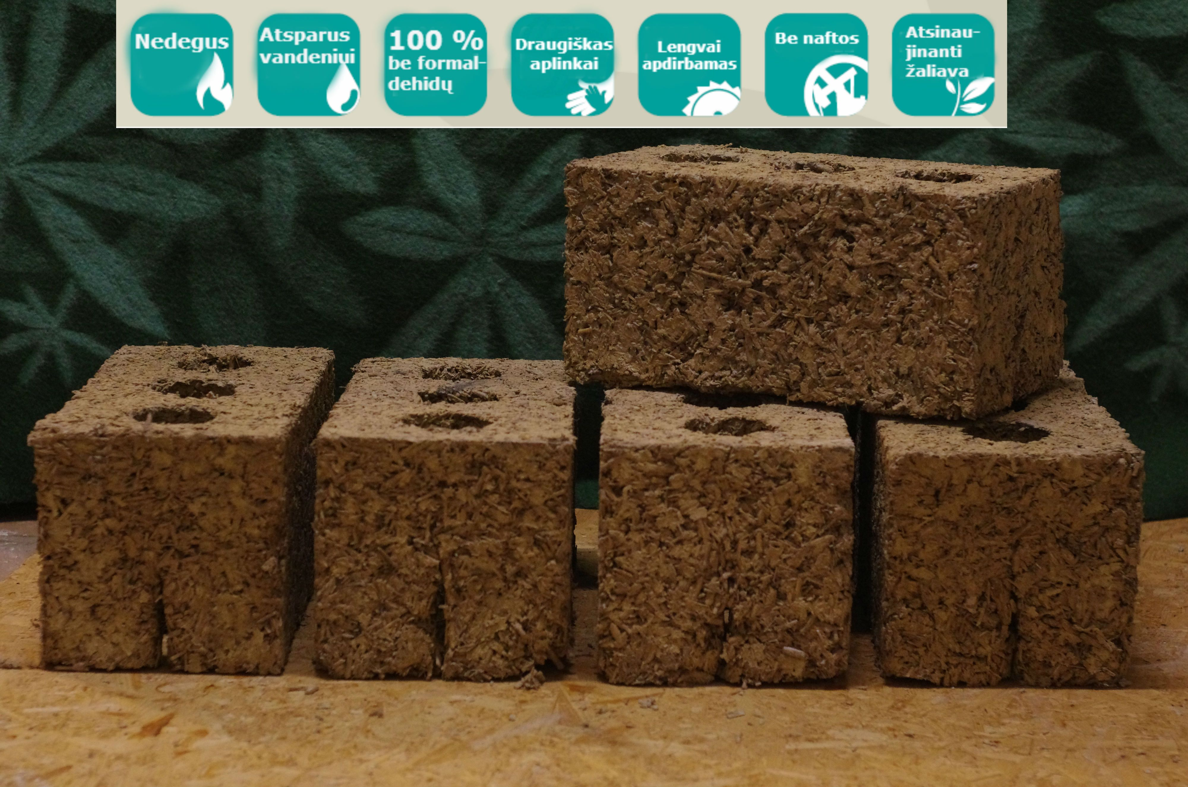 Hemp Blocks Made In Lithuania Sustainable Building