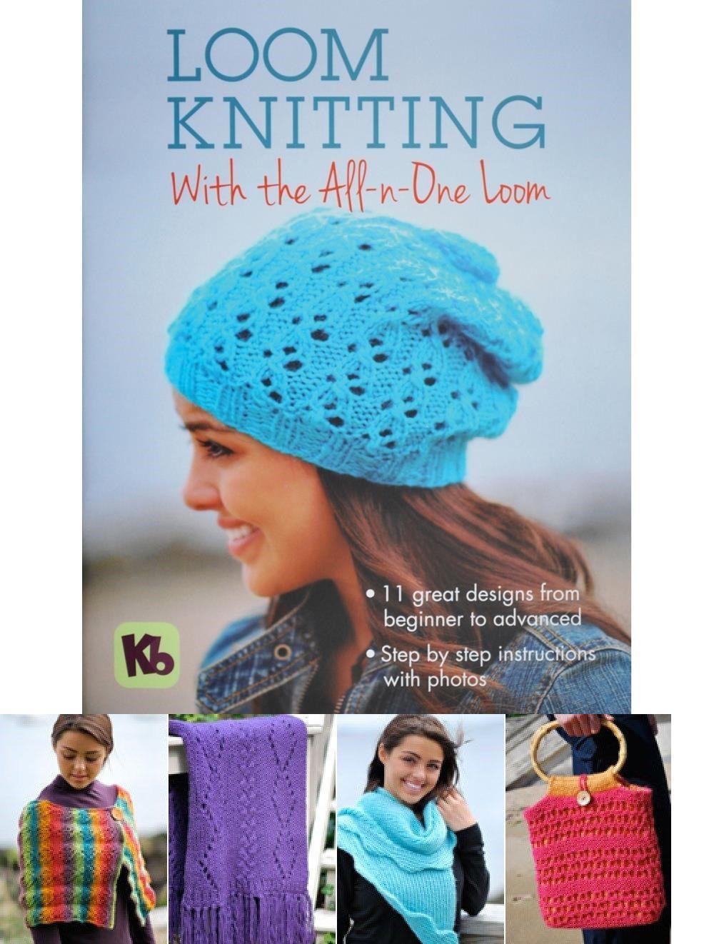 Knitting Board Book-loom Knitting