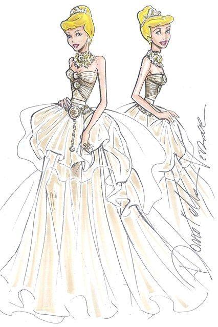 Manuel Vera   Las princesas de Disney vestidas por grandes creadores para Harrod's