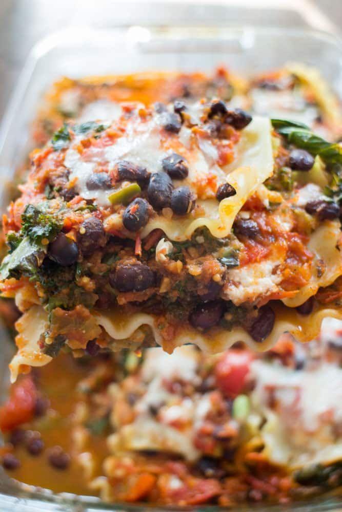 Vegetarian Mexican Lasagna images