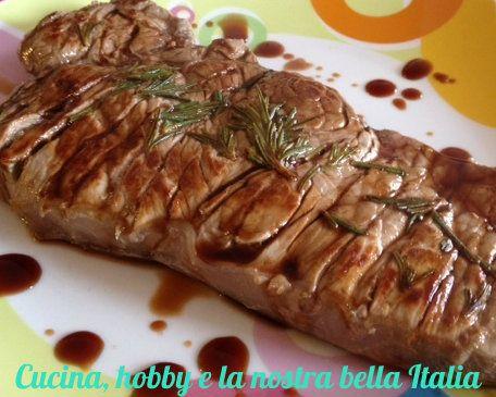 Tagliata con aceto balsamico ricette idee alimentari e for Cucinare tagliata