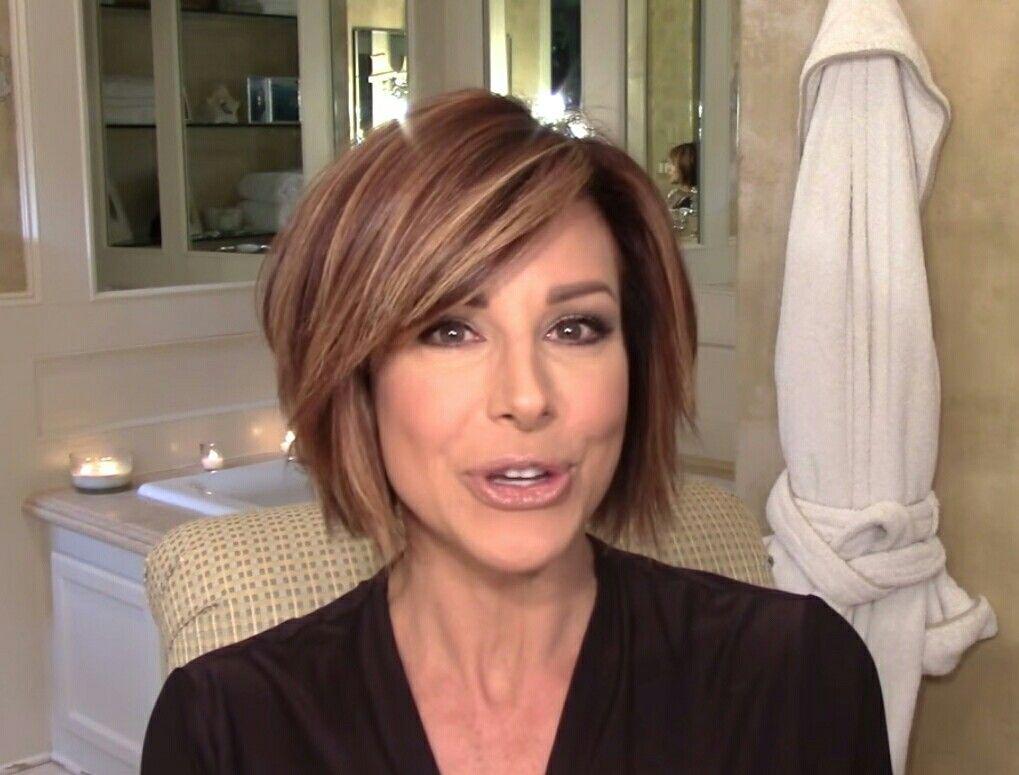 Lisa ann before plastic surgery short hairstyle 2013 - Dominique Sachse S Cute Hair