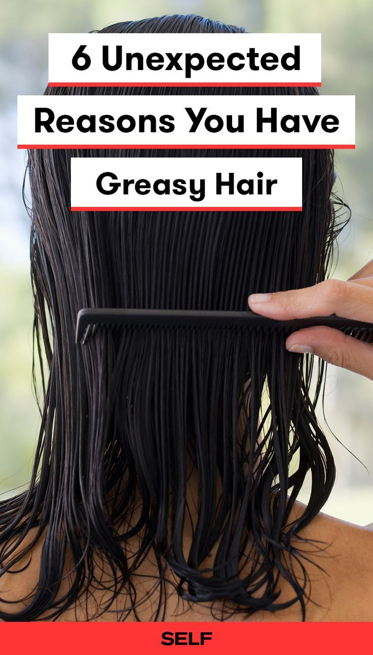 6 Unexpected Reasons You Have Greasy Hair
