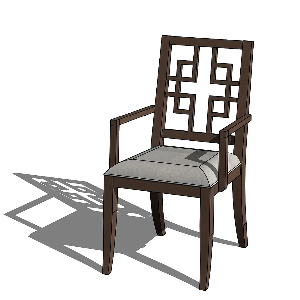 Revit Family of the Ethan Allen® Grayson Dining Chair ...