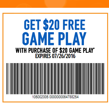 Dave And Busters Free Game Play Free Games Games To Play Dave Busters
