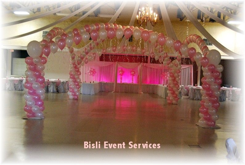 Quinceanera Hall Decorations Pink quinceanera hall decor...
