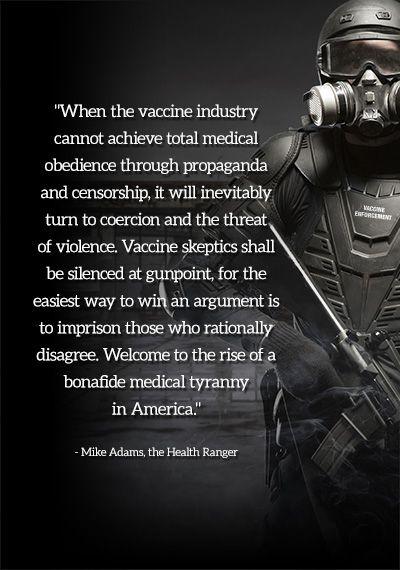 USA Today columnist vraagt om arrestatie en opsluiting van het vaccin sceptici - NaturalNews.com