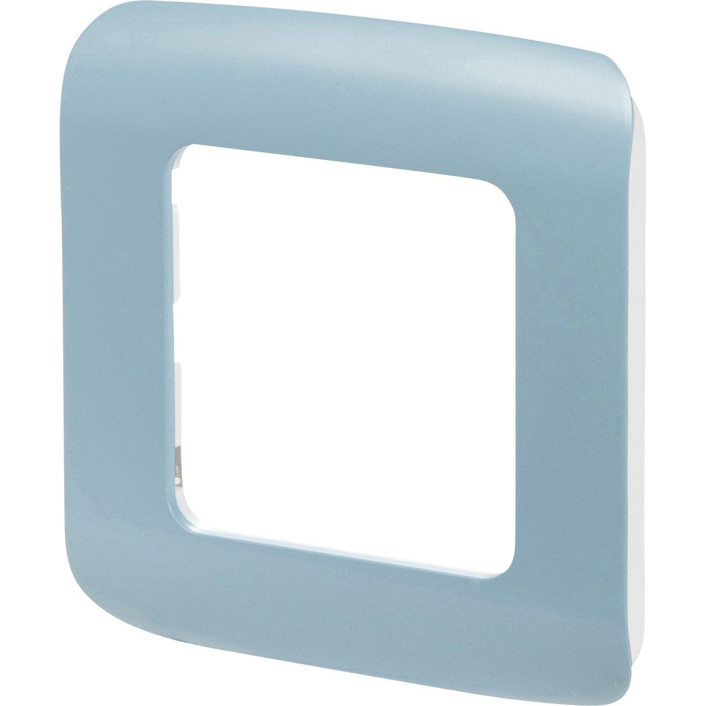 Plaque Simples Cosy Lexman Bleu Baltique N 3 Prise