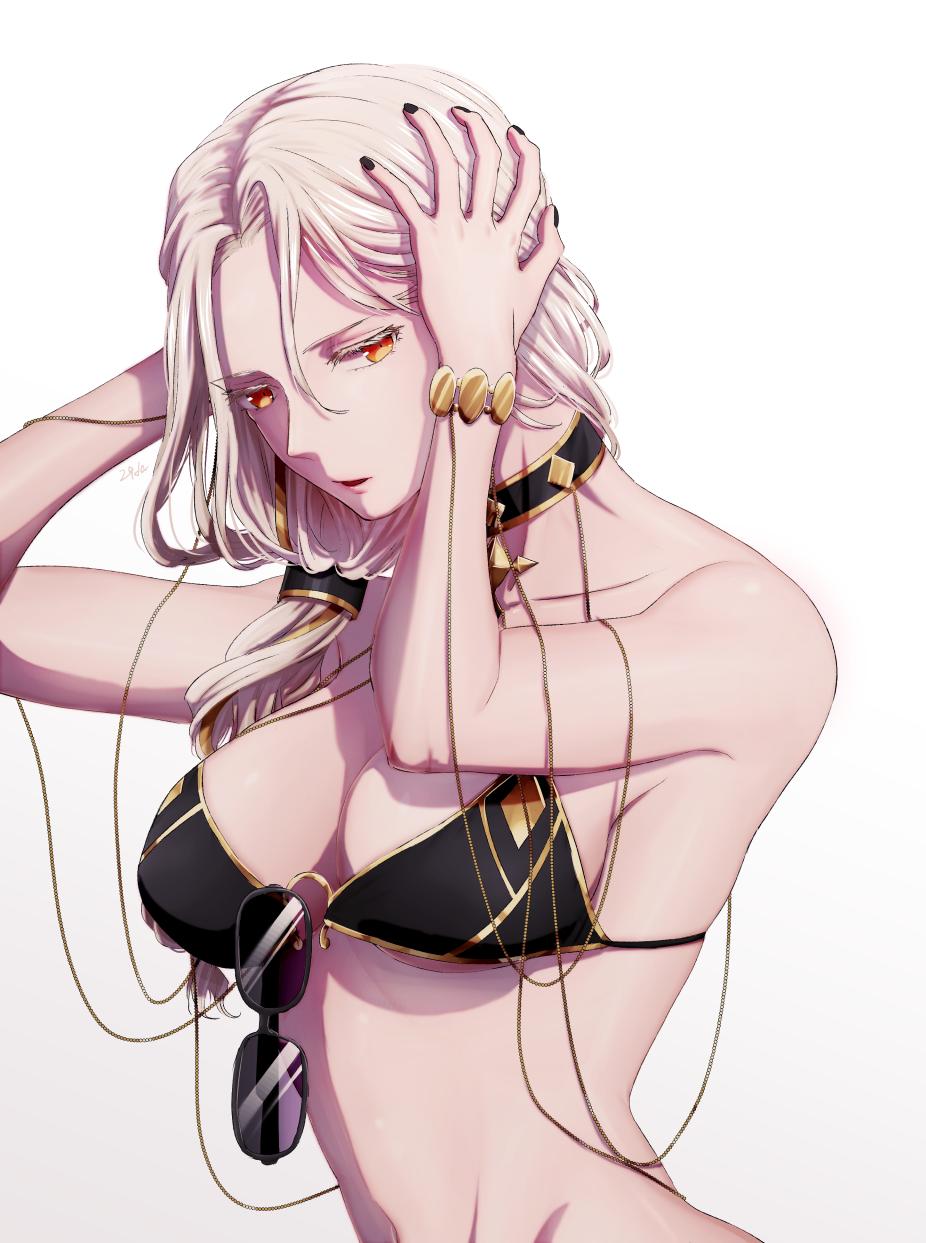 Fate Grandorder Fgo 水着カーミラさん 仁管 にくだ のイラスト Pixiv イラスト カーミラ 水着
