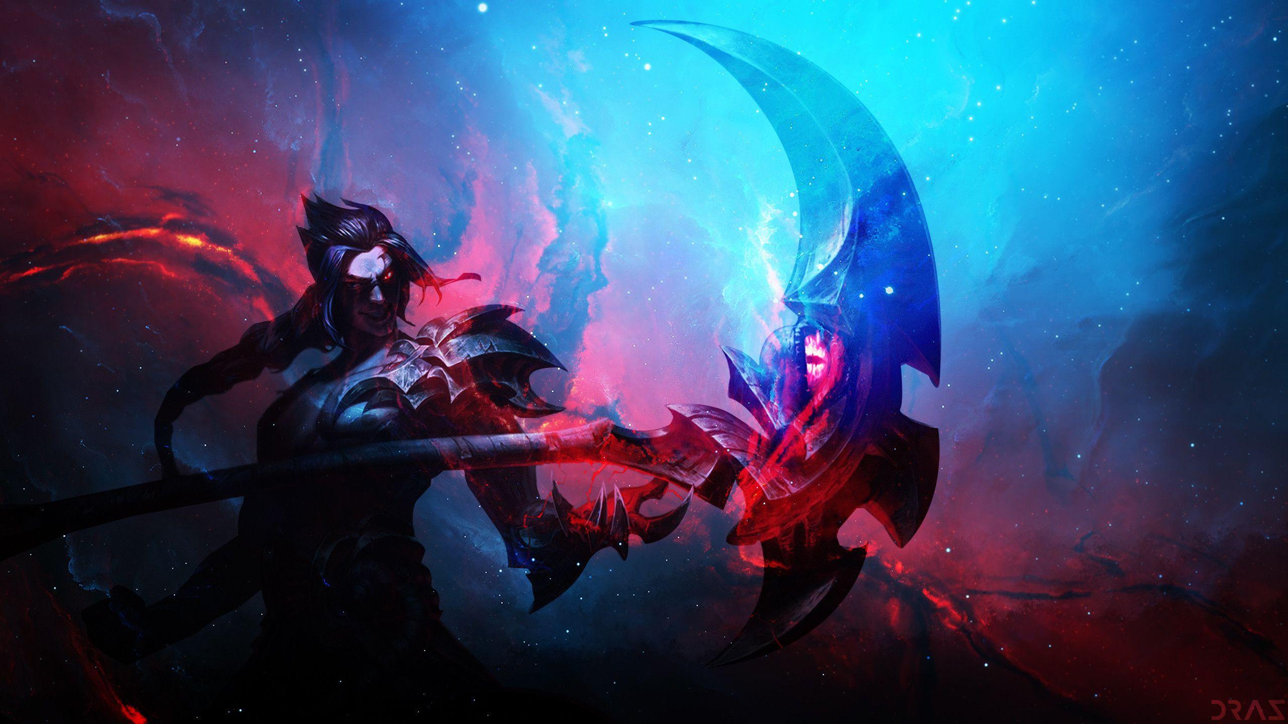2560x1440 Kayn By Drazieth Hd Wallpaper Background Fan Art Artwork League Of Legends Lol Background Pictures League Of Legends Lol League Of Legends