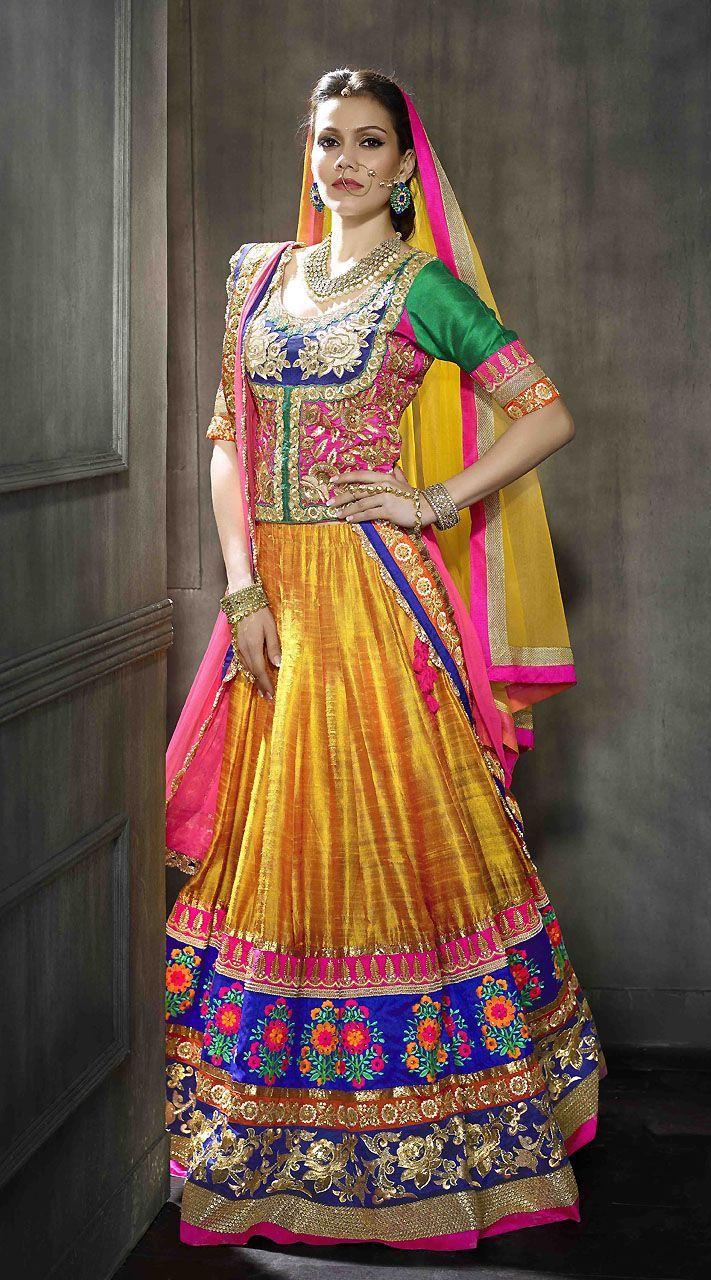 d21254f640 Indian Pakistani Ghagra/ Lehenga Choli Designs Collection 2019-2020 ...