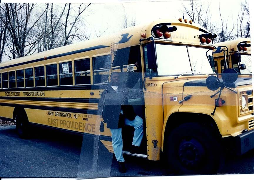 My old job bus driver bus 122 many years with ryder