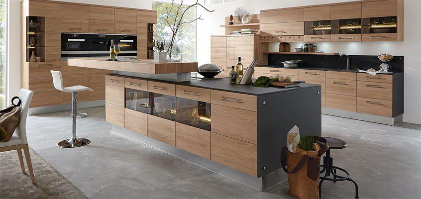 Massivholzküche Decker Vincensa rusticlivingdecormodern