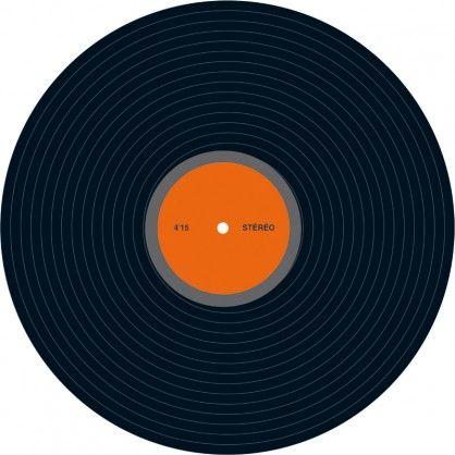 disque vinyl factice en carton recto verso fabrication fran aise disque vinyl madeinfrance. Black Bedroom Furniture Sets. Home Design Ideas