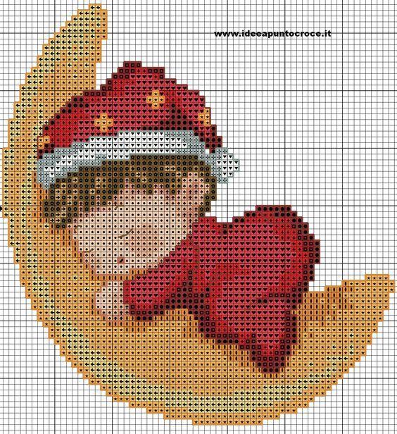 Cross Stitch *<3* schema bebè:
