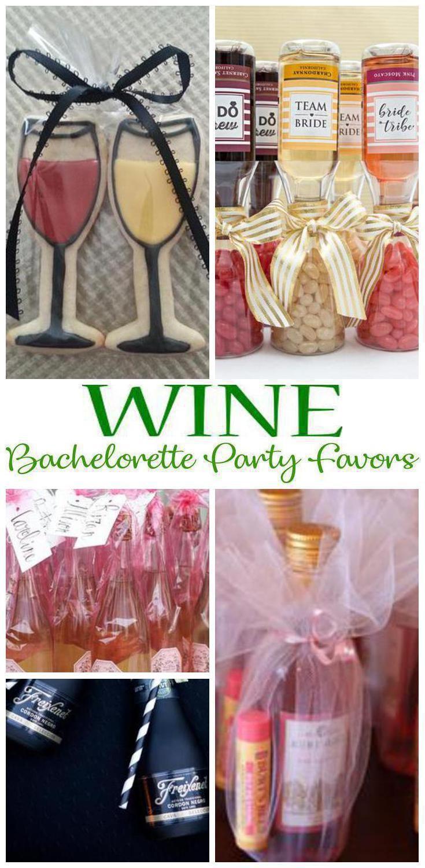 Bachelorette party favors best wine bachelorette party