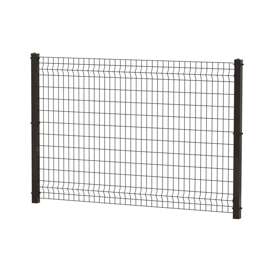 decorative metal fence panels. Ironcraft Black Powder-Coated Steel Decorative Metal Fence Panel Panels