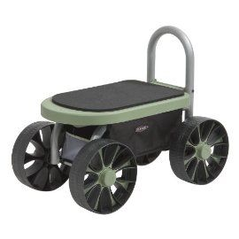 garden seat on wheels. The Large Wheels On This Garden Seat Make Moving Ground Easier Than Smaller Of A Walker. It Also Has Handy Rip To Aid Going F\u2026