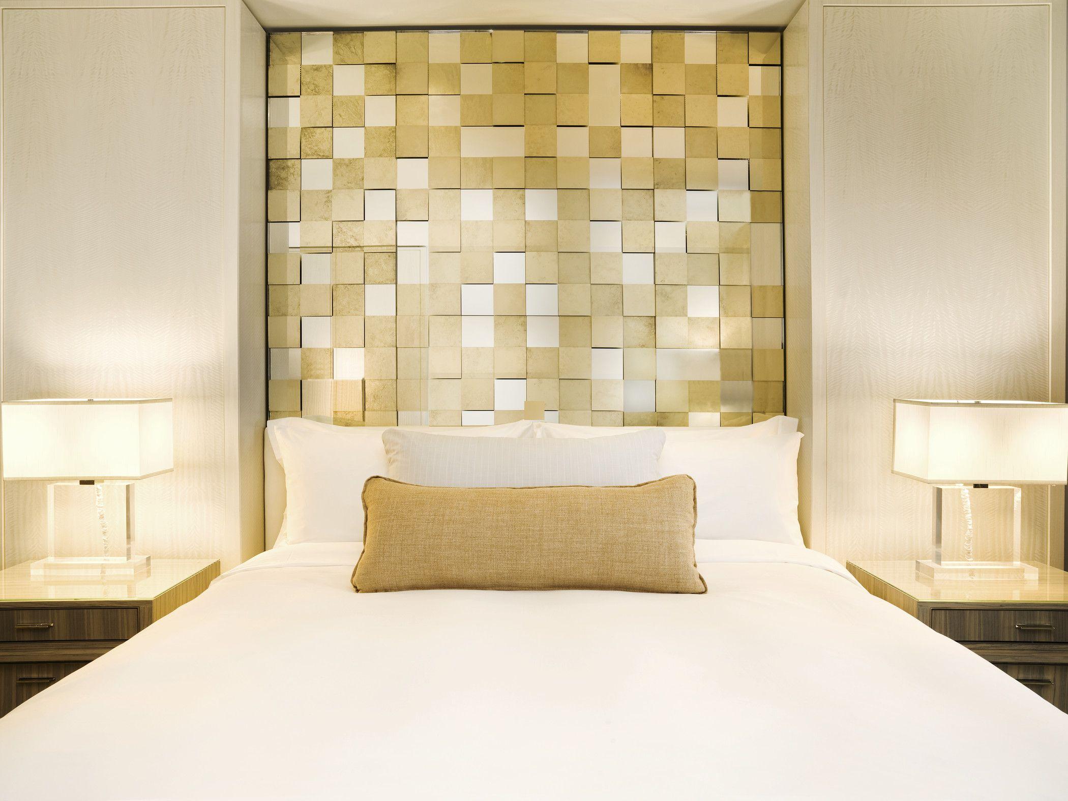 Golden Hotelroom