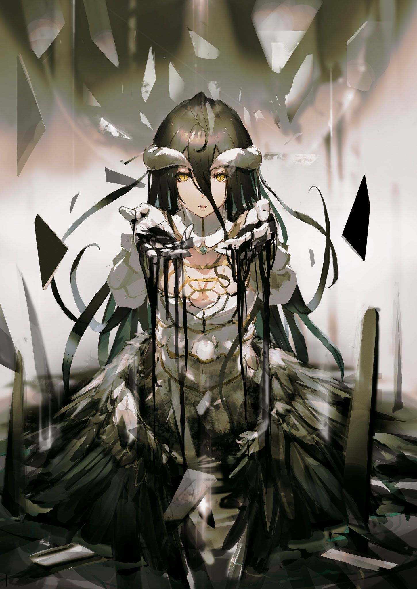 Some Of So Bin S Other Overlord Art Anime Manga Anime Anime Characters