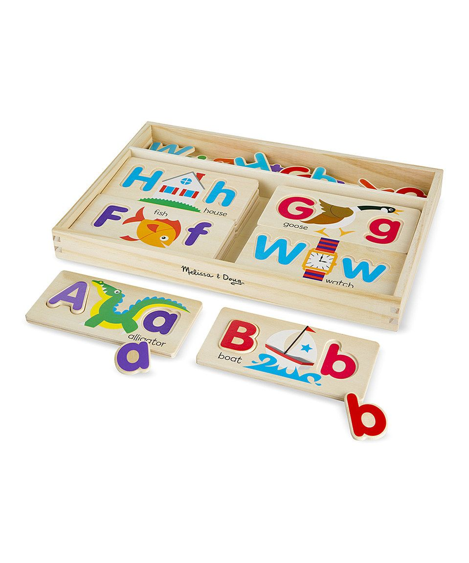 Take a look at this Melissa & Doug ABC Picture Boards today! | 70 ...
