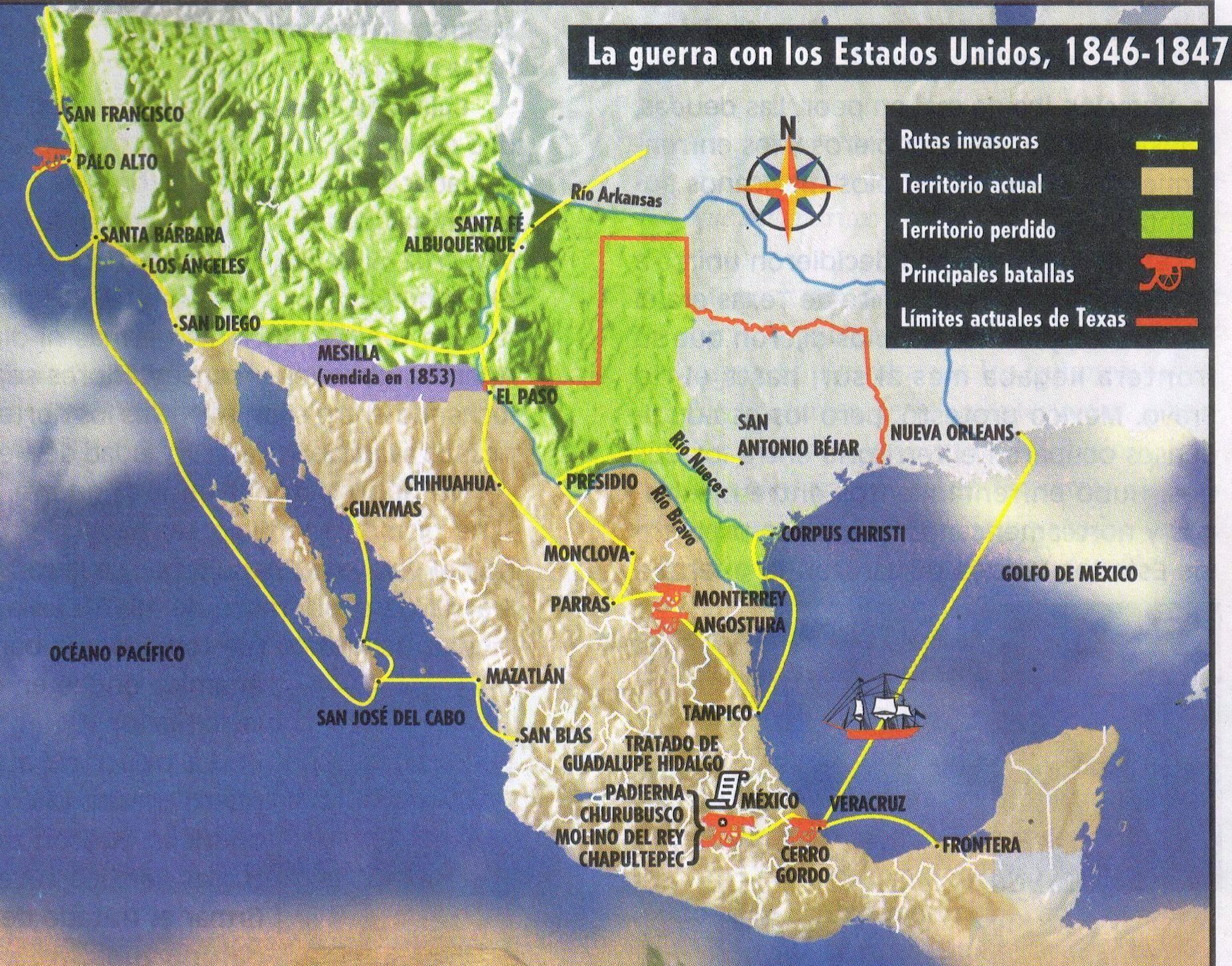 La-guerra-con-los-Estados-Unidos-1846-1847-mapas-Sinaloa-México.jpg ...