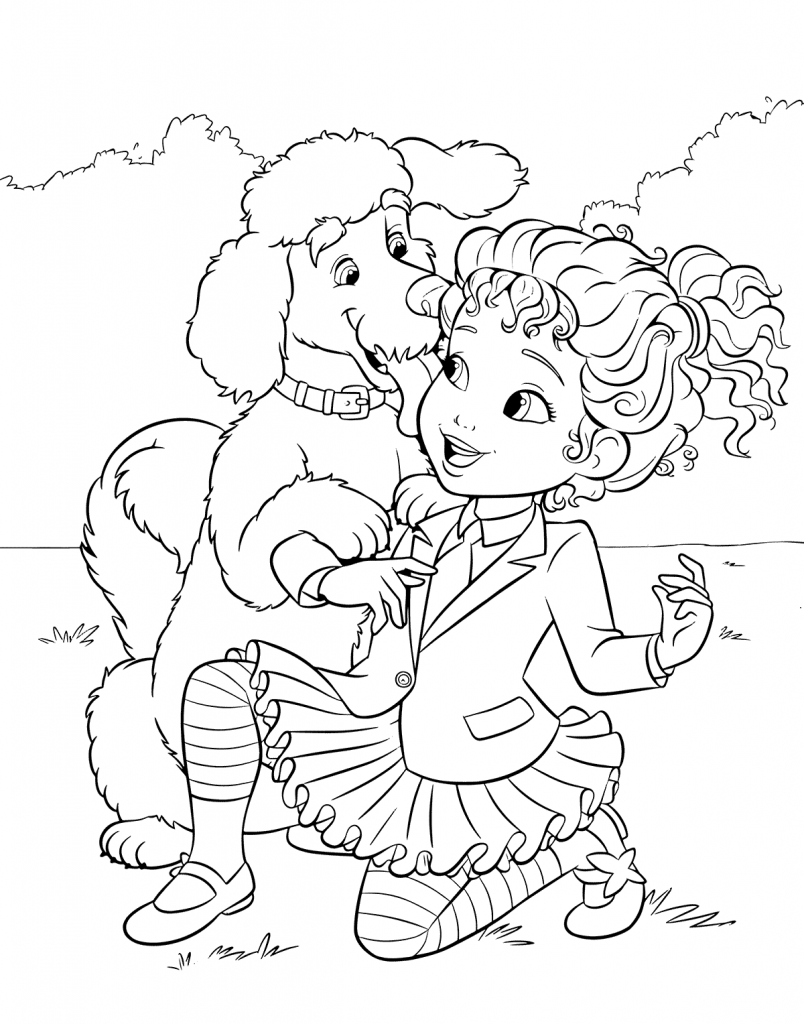 Poodle Coloring Pages Best Coloring Pages For Kids Coloring Pages Barbie Coloring Pages Coloring Pages For Kids [ 1024 x 804 Pixel ]