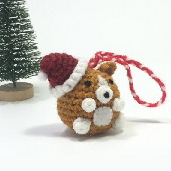 Crochet Amigurumi Cute Kawaii Corgi Dog Small by RiaArtWorld ...