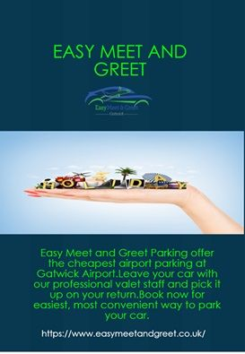 Gatwick airport meet and greet parking driveeapusedmotorhomefo easy meet and greet offers best and cost effective gatwick parking deals on cheap rates at m4hsunfo