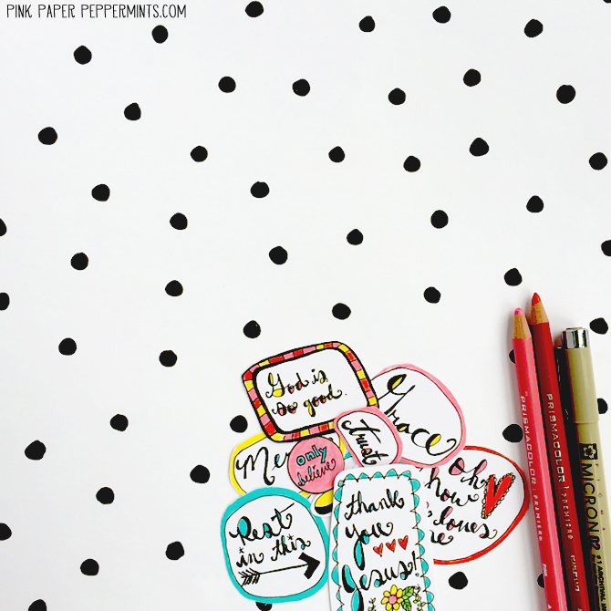 Printable Bible Journaling Stickers For You! | crafty | Printable