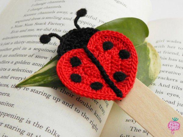 Coccinella Portafortuna Crochet Crochet Ladybug Crochet E