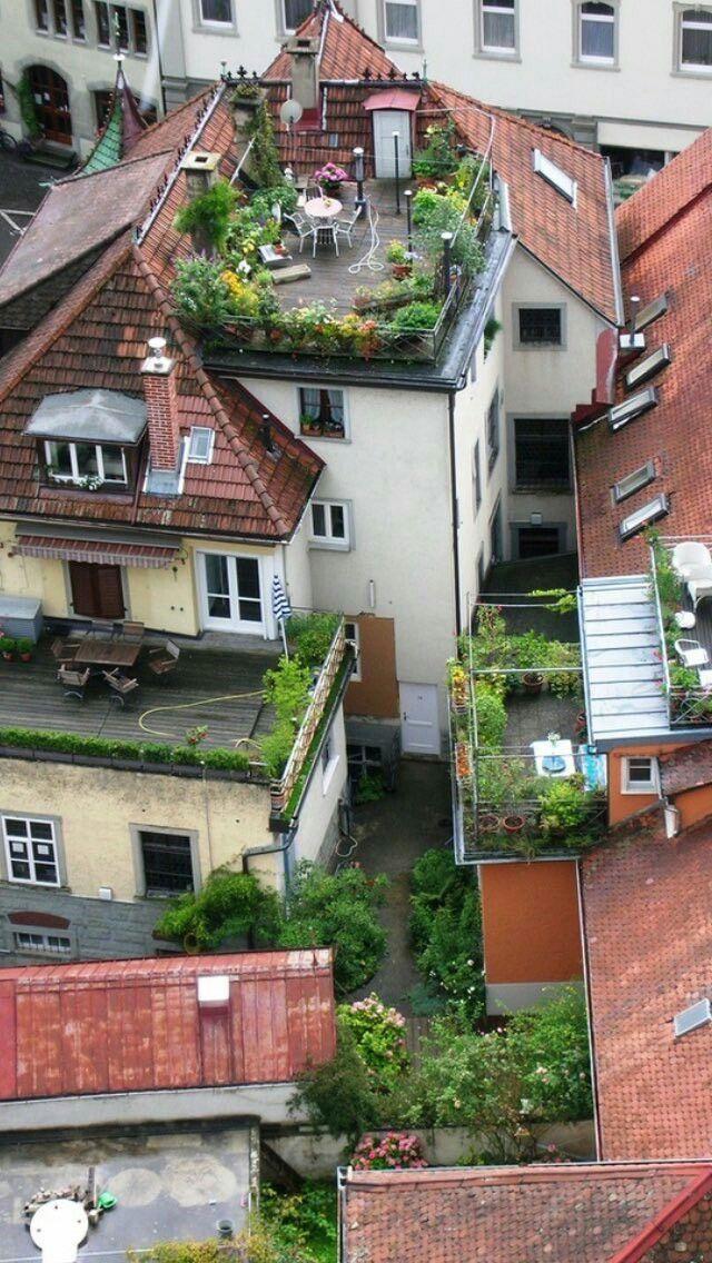 Pin by ebru on Ziyaret edilecek yerler   Pinterest   Rooftop gardens ...