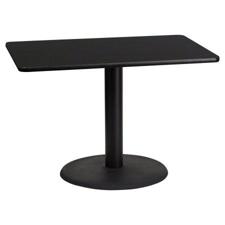 Flash Furniture Inch X Inch Rectangular Laminate Table Top - 24 inch round cocktail table