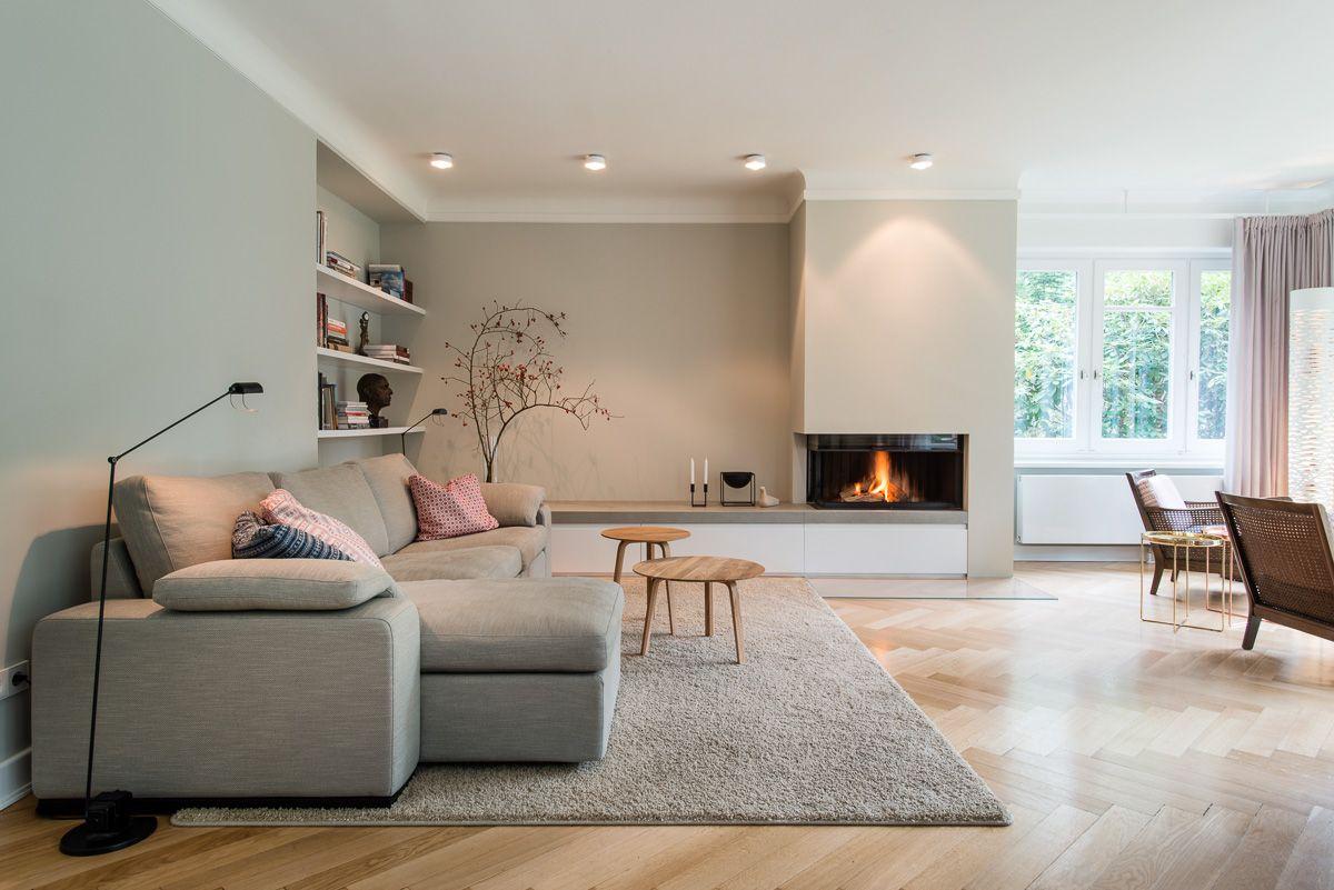 Gartner Internationale Mobel Wohnzimmer Kamin Feuer Sofa