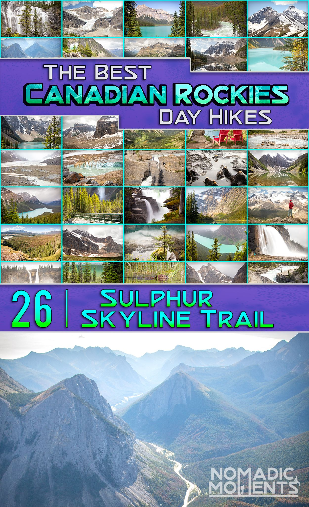 Done In A Day Banff The 10 Premier Hikes Copeland Kathy Copeland Craig 9780978342708 Books Amazon Ca