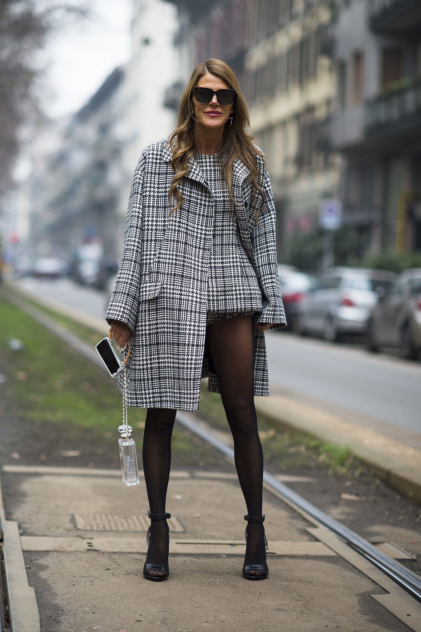 Anna Dello Russo perfected the no-pants look.
