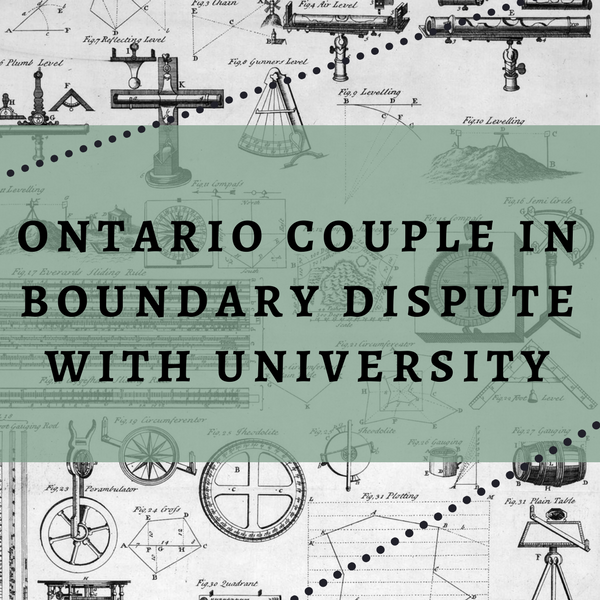 Couple Forgo Land Survey And End Up In Boundary Dispute Title