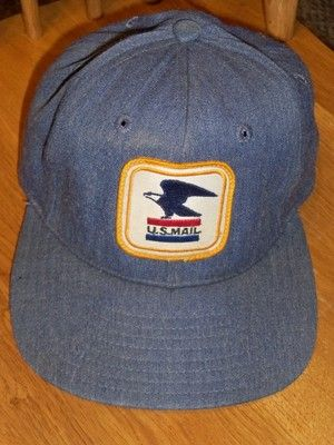 7cccf4a724e VINTAGE LETTER CARRIER MAILMAN POST OFFICE DEPARTMENT POSTAL HAT SNAPBACK  CAP